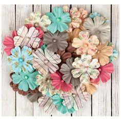 Fairy Rhymes Paper Flowers Multi Pack - Prima