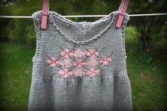 Ellie Dress - Knitting Patterns and Crochet Patterns from KnitPicks.com