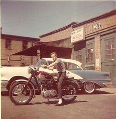 Vintage color snapshot