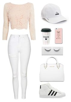 """#MyStyle"" by x-essie-x ❤ liked on Polyvore featuring Topshop, Coast, adidas and Michael Kors"