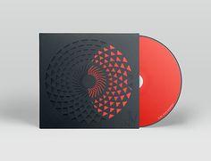 Red vinyl inside cutoff design