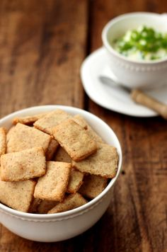 Grain-free Cheese Crackers - Dish by Dish