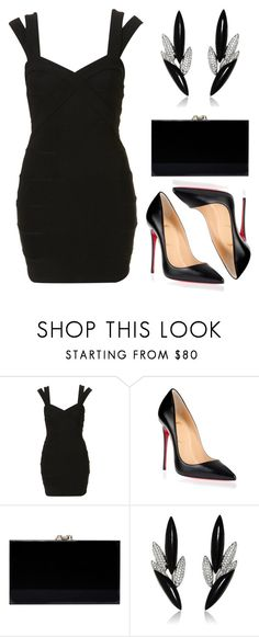 """""""2015/1064"""" by dimceandovski on Polyvore featuring Christian Louboutin, Charlotte Olympia and AS29"""