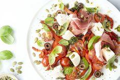 Soup Recipes, Salad Recipes, Dinner Recipes, Paleo Dinner, Healthy Breakfast Recipes, Healthy Recipes, Tapas, High Calorie Meals, Energy Snacks