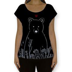 Compre Love Bear de @tatianagomes em camisetas fullprint de alta qualidade. Incentive artistas independentes, encontre produtos exclusivos.