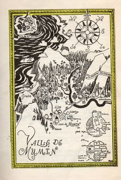 (Mi sueño de la infancia era ir al Valle Moomin.)