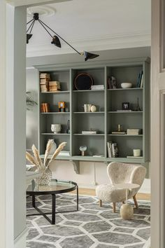 Dalby Mistral - Kvänum Dressing Rooms, Kitchen Shelves, Bookcase, Living Room, Studio, House, Home Decor, Bor, Shelving