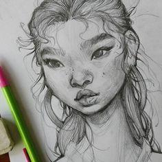 Resultat d'imatges de draw again loish