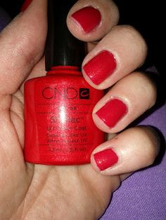 CND Shellac color: Hollywood