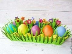 64 Ideas basket paper diy party favors for 2019 Easter Eggs Kids, Easter Projects, Easter Crafts For Kids, Diy Projects, Diy Osterschmuck, How To Make Snowflakes, Egg Carton Crafts, Diy Easter Decorations, Diy Ostern