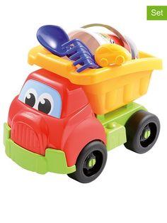 Ciężarówka z zabawkami plażowymi 69,00zł http://www.modnelobuziaki.pl/ciezarowka-z-zabawkami-plazowymi-id-189