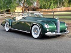 STRANGE OLDE CONCEPT CARS - 1955 MAVERICK SPORTSTER CONVERTIBLE