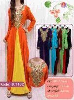 Kaftan Maxi Dress Shinta | Grosir Baju Muslim Terbaru