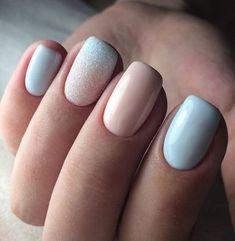 What Christmas manicure to choose for a festive mood - My Nails Stylish Nails, Trendy Nails, Hair And Nails, My Nails, Pedicure Nails, Pedicure Ideas, Nail Color Combinations, Nagel Gel, Cute Acrylic Nails