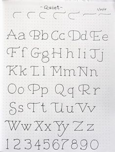 In & Out of Studio hand lettering drawing Hand Lettering Alphabet, Doodle Lettering, Creative Lettering, Calligraphy Alphabet, Calligraphy Fonts, Handwriting Fonts Alphabet, Cute Fonts Alphabet, Doodle Fonts, Alphabet Writing
