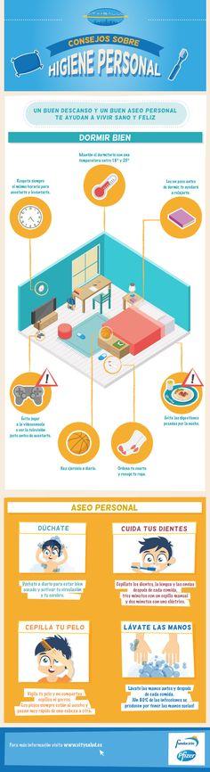 Consejos sobre higiene personal