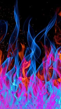 Abstract Flames Wallpaper by Sarchotic - - Free on ZEDGE™ Smoke Wallpaper, Neon Wallpaper, Phone Screen Wallpaper, Trippy Wallpaper, Colorful Wallpaper, Cellphone Wallpaper, Aesthetic Iphone Wallpaper, Aesthetic Wallpapers, Marvel Wallpaper