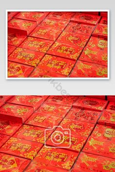 Tanabata red big red envelope photography picture#pikbest#photo