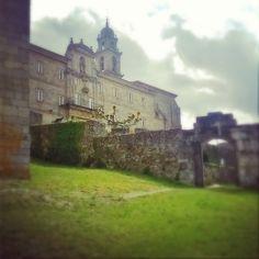Monasterio San Vicente do Pino. Parador. Monforte de Lemos.
