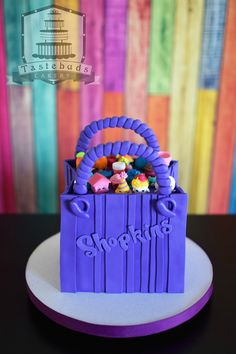 Shopkins Bag Cake