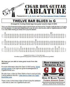 Buch und CD Witzige Cigar Box Gitarre mit 3 Saiten für super Blues-Sound inkl