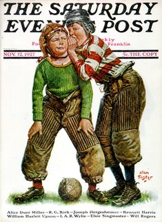 Classic Covers: Gridiron Grit | The Saturday Evening Post