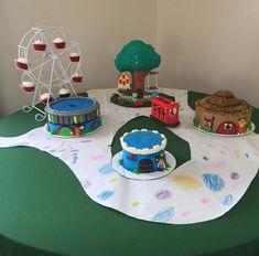 Daniel Tiger Party, Daniel Tiger Birthday, Fourth Birthday, 3rd Birthday Parties, Birthday Ideas, Kids Party Themes, Party Ideas, Garden Birthday, First Birthdays
