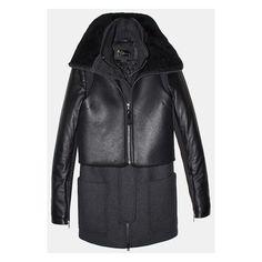 我爱吃鱼头。 found on Polyvore featuring women's fashion, outerwear, coats and jackets