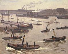 Albert Marquet, Le port de Rotterdam