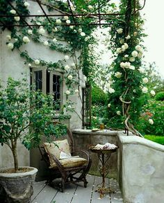 Peaceful outdoor space.