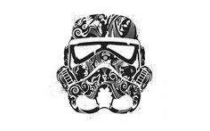Stormtrooper helmet wallpaper