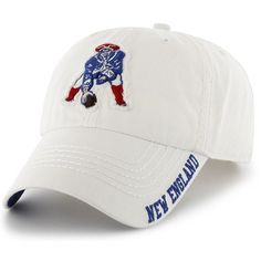 Throwback '47 Winthrop Cap-White  #Patriots
