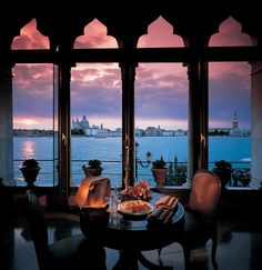 Harry's Bar  Venice - have seen this view with my own eyes! And the best Bellini I have ever had!