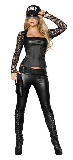 Sexy Police Costumes, Sexy Swat Costumes, Sexy Adult Costumes, Sexy Halloween Costumes