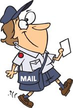 Postwoman from http://toonaday.com
