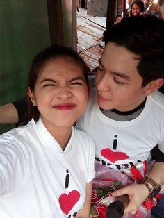 """Alden Richards and Maine Mendoza were in Cebu on Thursday. Aside doing press for their upcoming movie """"My Bebe Love,"""" the phenomenal AlDub love team also took their Kalyeserye romance to the street of Cebu. Rose Ann, Gma New, Maine Mendoza, Alden Richards, Funny Adult Memes, Personal Fan, Great Anniversary Gifts, Quezon City, Something Special"""