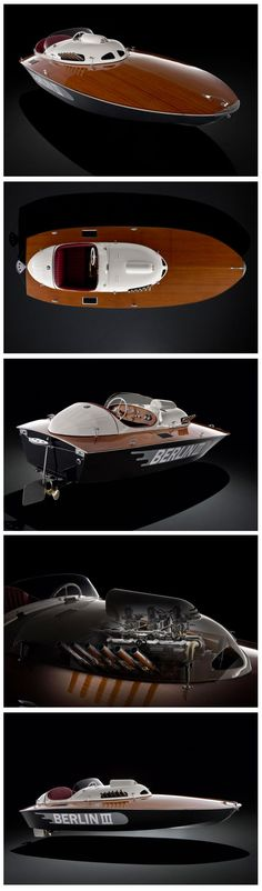 1950 'Berlin lll' E2 Class Racing Sports Boat...To be auctioned off by Bonhams :: Estimate: US$ 240,000 - 350,000 (£150,000 - 220,000)
