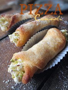 Award-Winning, Sicilian Pizza Cannoli