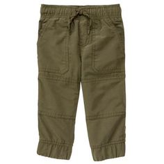 Toddler Boys Olive Green The Gymster™ Pant by Gymboree