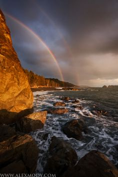 Rialto Beach, Olympic National Park, Washington, USA