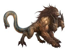 162 best images about sphinx chimera manticore on Mythical Creatures Art, Mythological Creatures, Weird Creatures, Magical Creatures, Fantasy Creatures, Fantasy Monster, Monster Art, Creature Concept Art, Creature Design