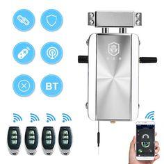 HXQ910 - $82.29 (26% OFF) 📉 Intelligent Home Electric Remote Control Door Lock Mechanical Anti-Theft - Silver / 1pc #HXQ910 #Smart #Door #Lock #gearbest #замок #Remote #Control #Sherlock #дверь #sale 9728