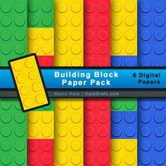 Kit de Lego para Imprimir Gratis.