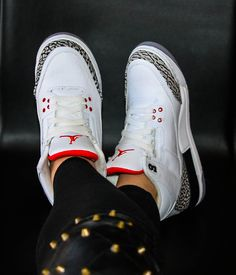 wholesale dealer 1c1d7 d8c22 Nike Air Jordan 3 aka the Cements Nike Shoes Outlet, Nike Free Shoes,  Reflective