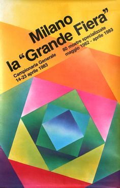 Milano La Grande Fiera 1983 by Dradi, Carlo | Shop original vintage #posters online: www.internationalposter.com
