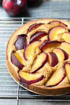 This easy plum cake recipe is such a delicious way to celebrate summer fruit! Try this gluten-free snack or dessert for summertime treat.