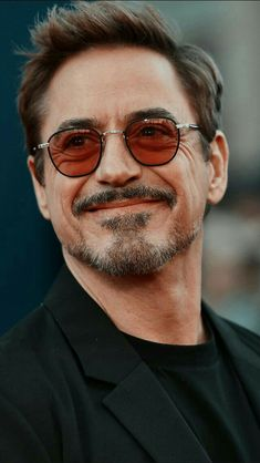 Tony Stark Smile
