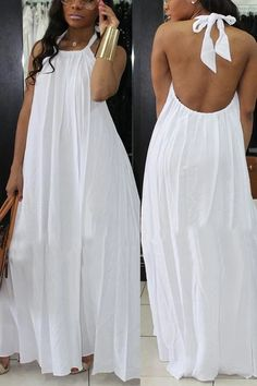 Fashion African Dress Clothing 43 Ideas For 2019 White Fashion, Look Fashion, Trendy Fashion, Fashion Design, Ladies Fashion, Womens Fashion, Beach Fashion, Trendy Style, 1950s Fashion