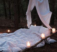 Sleeping under the stars - ooooo yes please