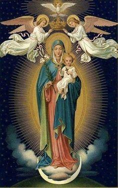 La santísima virgen María en todas sus manifestaciones #soulmateprayer